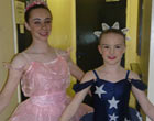 Rachael Ward and Amy Kyle were chosen to appear in the Coppelia at Tyne Theatre with the Youth Ballet 2011, Rachael is now just about to finish a 3 year musical theatre course at Bodyworks for which she was been awarded a DADA (Dance & drama award)